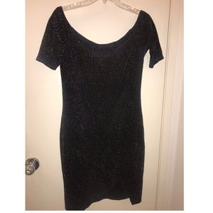 Charlotte Russe Off the Shoulder Dress- Large